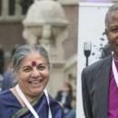 Celebrating Soil met Vandana Shiva